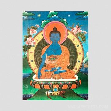 Akshobhya Buddha Thangka