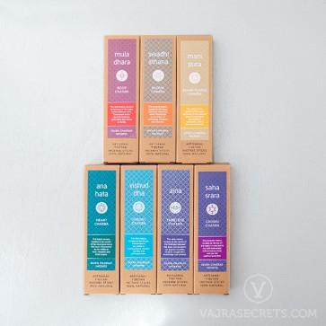 Seven Chakras Incense Sticks Collection