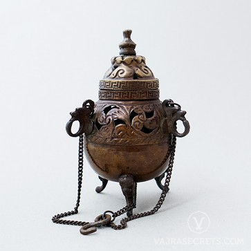 Mini Tibetan Hanging Incense Burner