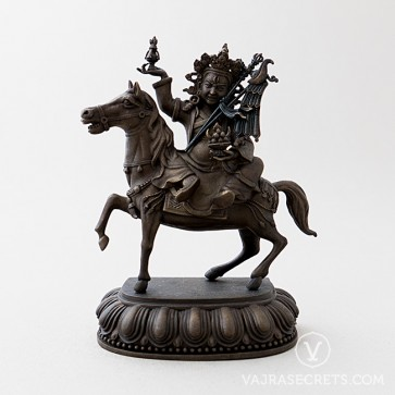 Gyenze Brass Statue with Oxidised Finish, 6 inches