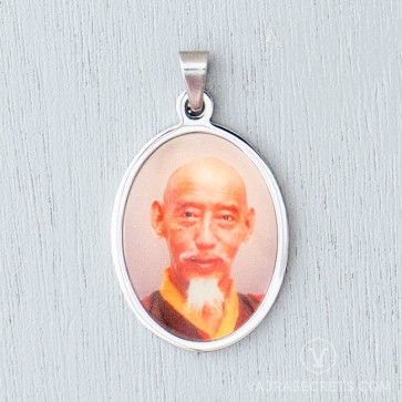 Zong Rinpoche Stainless Steel Pendant