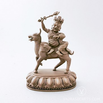 Namkar Barzin Brass Statue with Copper Finish, 5.5 inches