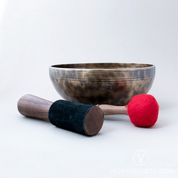Genuine Full Moon Singing Bowl, 9.7 inches