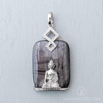 Limited Edition Shakyamuni Agate Pendant
