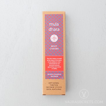 Seven Chakras Incense Sticks: Muladhara