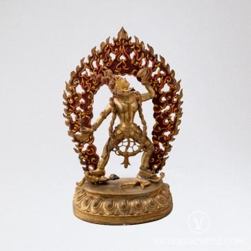 Vajrayogini Gold Statue, 14 inches