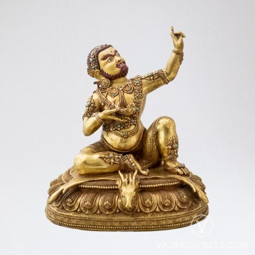 Virupa Gold Statue, 10 inches
