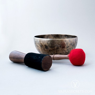 Moon Singing Bowl, 8.7 inches