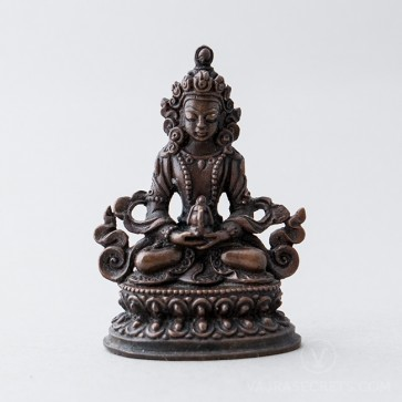 Amitayus Copper Statue, 2 inches