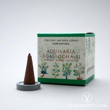 Aquilaria Agalocha-31 Tibetan Incense Cones