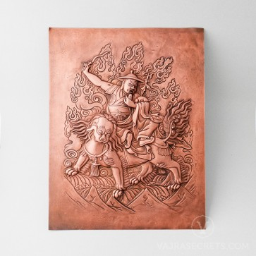 Dorje Shugden Copper Etching
