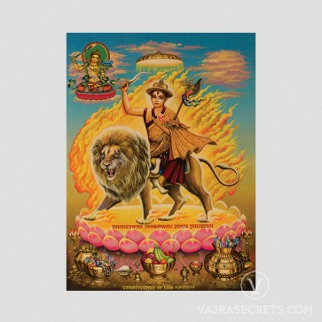 Dorje Shugden Indian Art