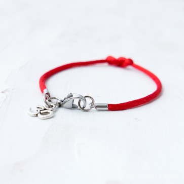 OM Protection String Bracelet