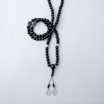 Onyx Protection Mala (Semi-Blessed)