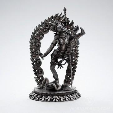 Vajrayogini (Maitri Kacho) Silver Statue, 4 inches