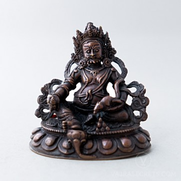 Dzambala Copper Statue, 3 inches