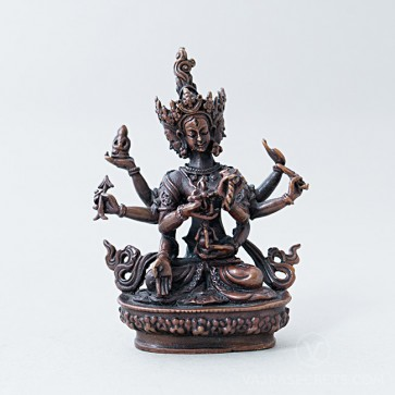 Namgyalma Copper Statue, 4 inches