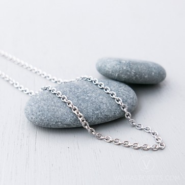 Stainless Steel Cable Necklace