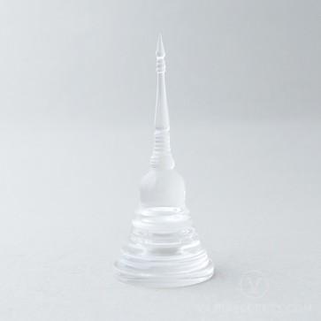 Acrylic Stupa, 4 inches