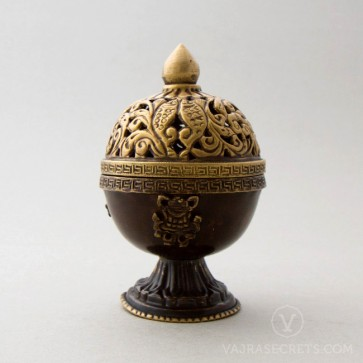 Tibetan Metal Incense Burner