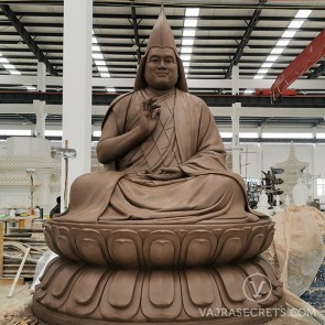 7ft Tsem Rinpoche statue (clay mold)
