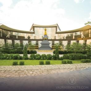 Tsem Rinpoche Relic Temple (artist impression)