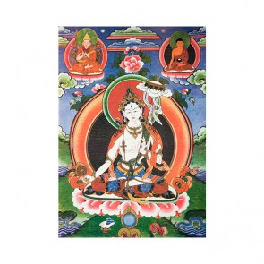 Dukkar (Two-armed) Thangka