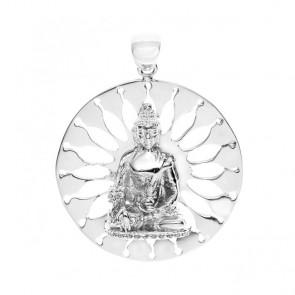 Medicine Buddha Sunburst Pendant