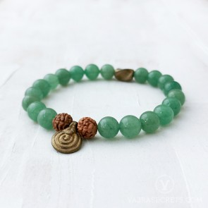 Nature's Calm Mala Bracelet (Semi-Blessed)