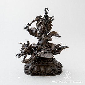 Trakze Brass Statue with Oxidised Finish, 6 inches