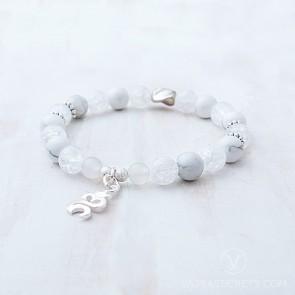 Blessed Om Meditation Mala Bracelet