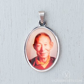 Trijang Rinpoche Stainless Steel Pendant
