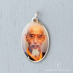 Trijang Rinpoche & Zong Rinpoche Double-Sided Pendant