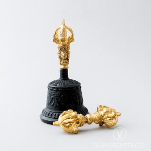 Vajra and Bell, Antique Finish (Small)