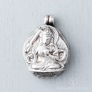 Manjushri Sterling Silver Gau Locket