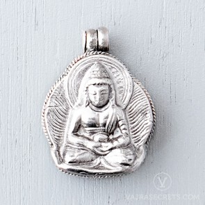 Amitabha Sterling Silver Gau Locket