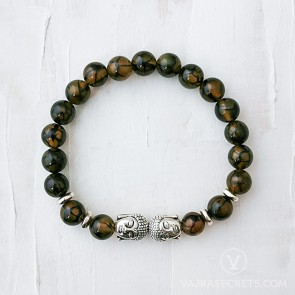 Blessed Dragon's Vein Buddha Bracelet