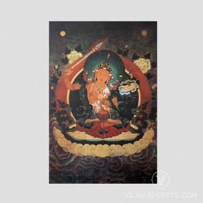 Manjushri Thangka (Vintage Effect)
