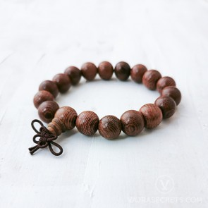 Simply Blessed Wood Mala Bracelet
