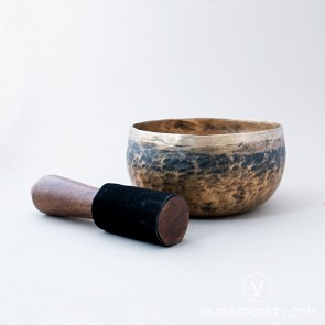 Antique Bronze Singing Bowl, 7.1 inches