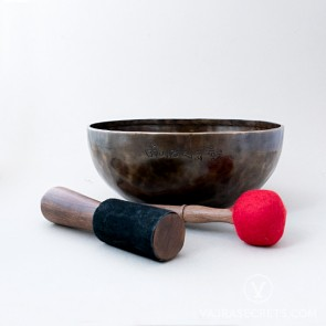 Genuine Full Moon Singing Bowl, 10.6 inches
