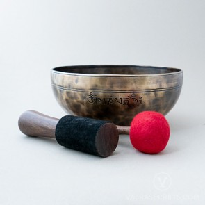 Genuine Full Moon Singing Bowl, 10.5 inches