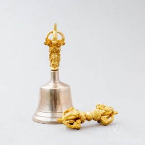 Vajra and Bell, Bronze Alloy (Small)