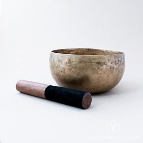 Antique Bronze Singing Bowl, 7.5 inches