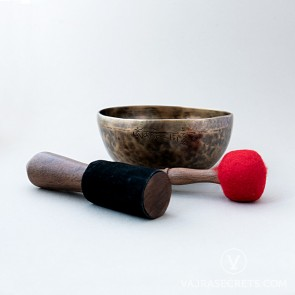 Moon Singing Bowl, 10.6 inches