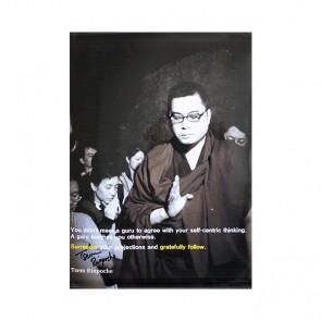 Tsem Rinpoche Autographed Photo 3