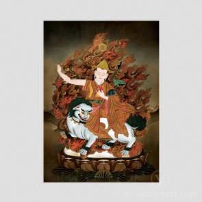 Blessed Dorje Shugden Photo Print
