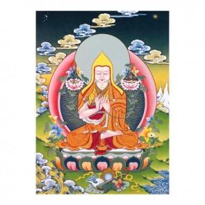 Lama Tsongkhapa Thangka
