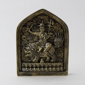 Peaceful Dorje Shugden Tsa Tsa With Bronze Finish