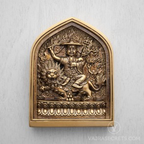 Dorje Shugden Tsa Tsa with Bronze Finish